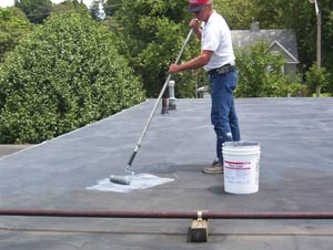 Perfect Conklinu0027s Tack Coat Promotes Adhesion Between Cleaned EPDM Roofing And  Conklinu0027s Rapid Roof III Acrylic Elastomeric Roof Coating.